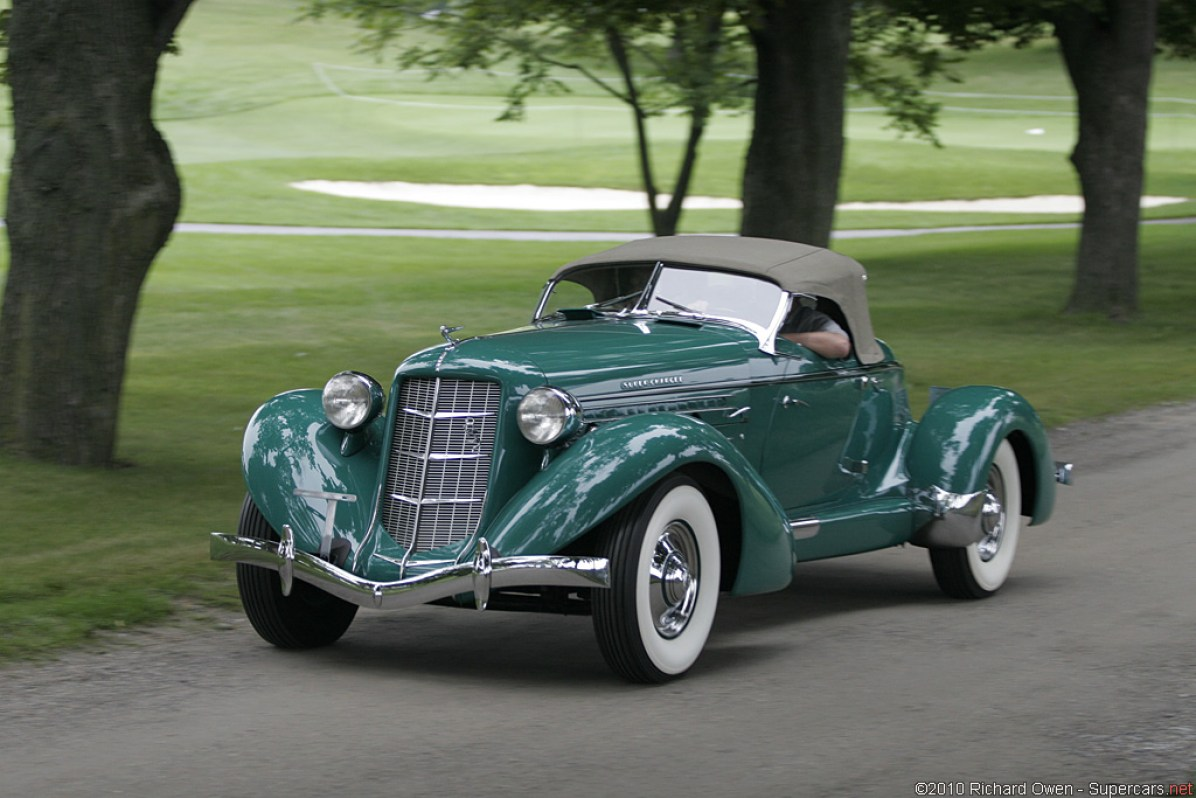 1936 Auburn 852 SC