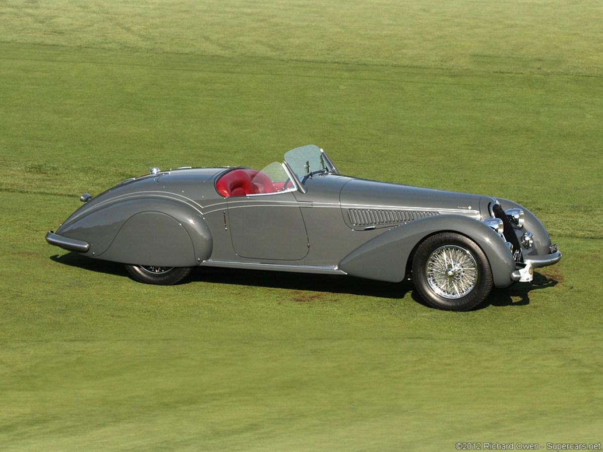 1938 Alfa Romeo 8C 2900B Lungo Spyder