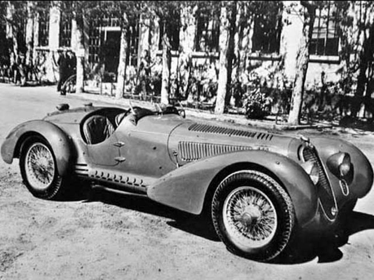 1938 Alfa Romeo 8C 2900MM