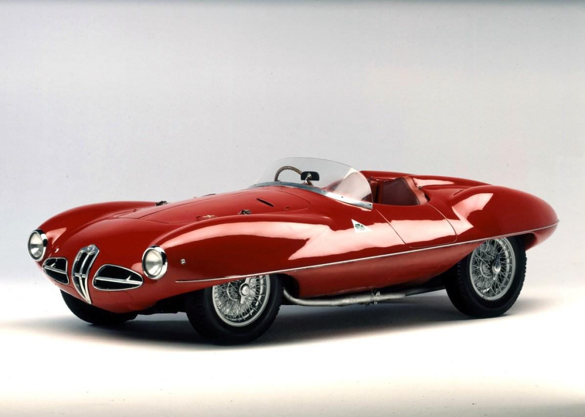 1952 Alfa Romeo Disco Volante Spider