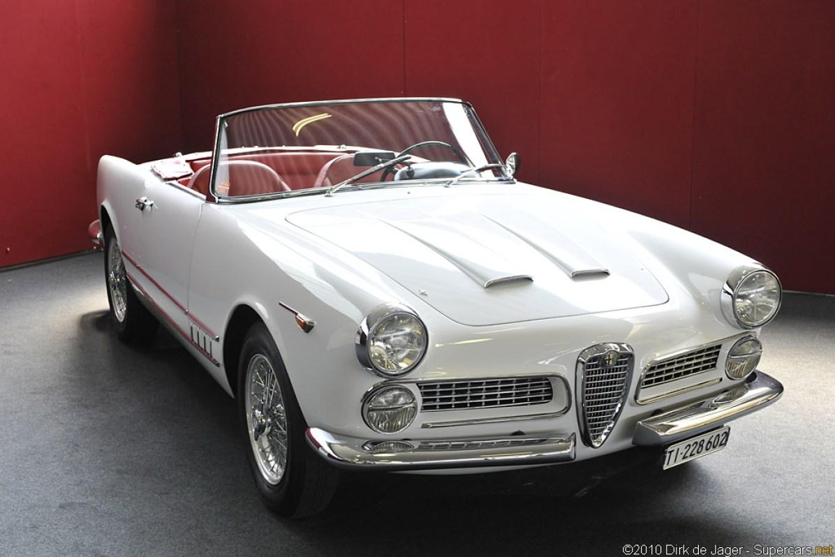 1958 Alfa Romeo 2000 Spider