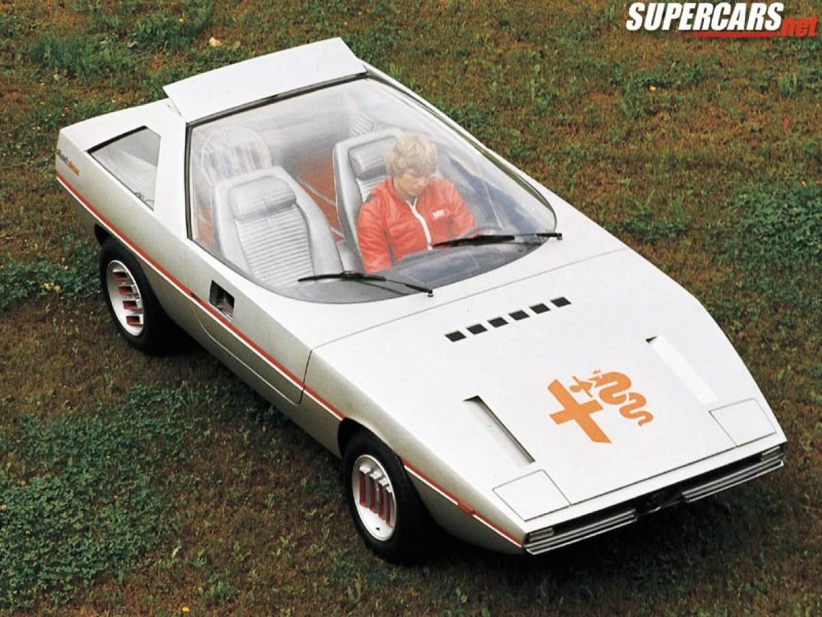 1972 Alfa Romeo Caimano Concept