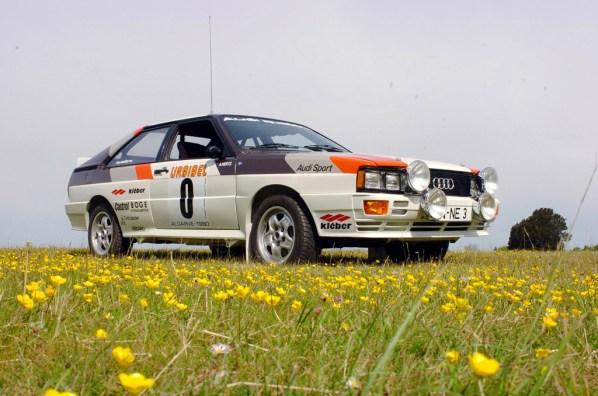 1981→1982 Audi Quattro Rallye