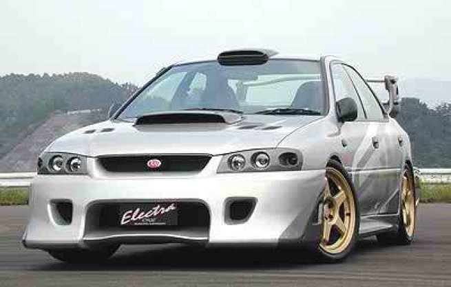 1999 Subaru Impreza Electra One Concept