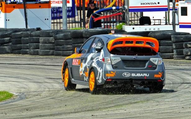 2012 Subaru Puma WRX STI RallyCross