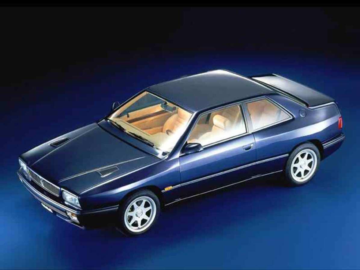 1992→1998 Maserati Ghibli