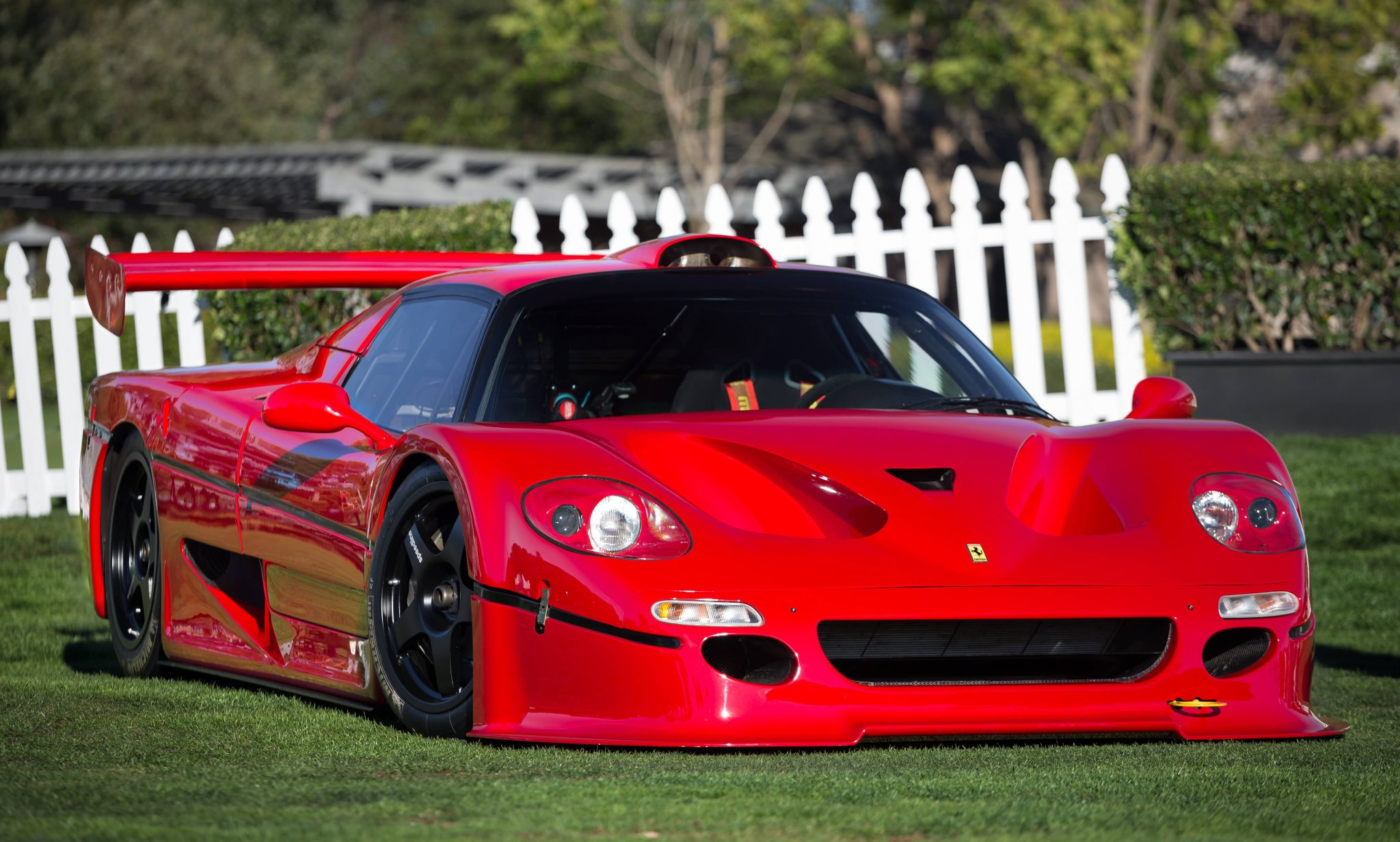 Hd Wallpapers Cars Ferrari 1996 Ferrari F50 Gt Ferrari Supercars Net