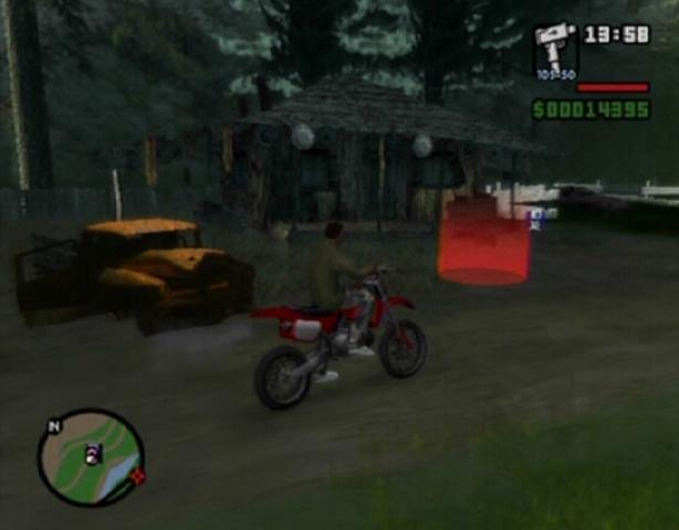 gta san andreas mission cv