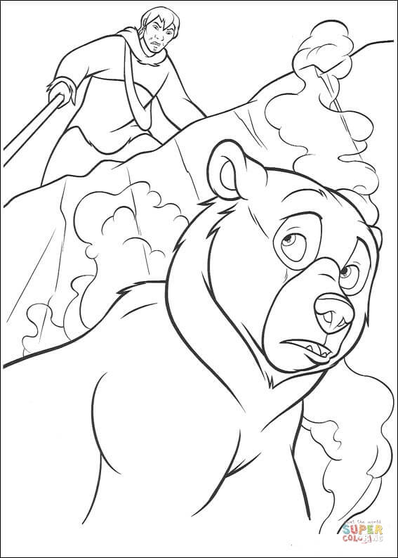 big brother coloring pages