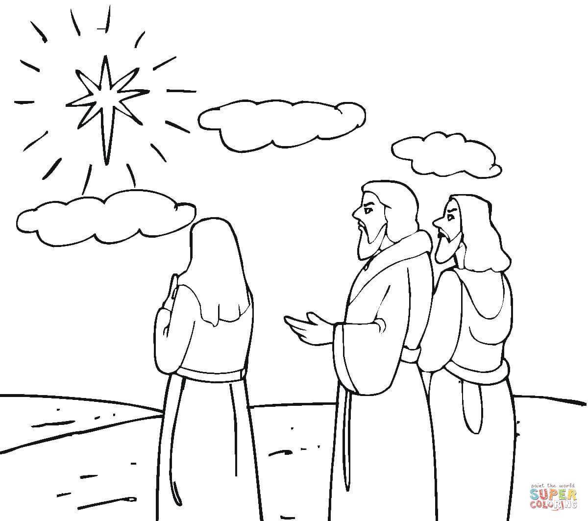 Betlemme Da Colorare Natale 25