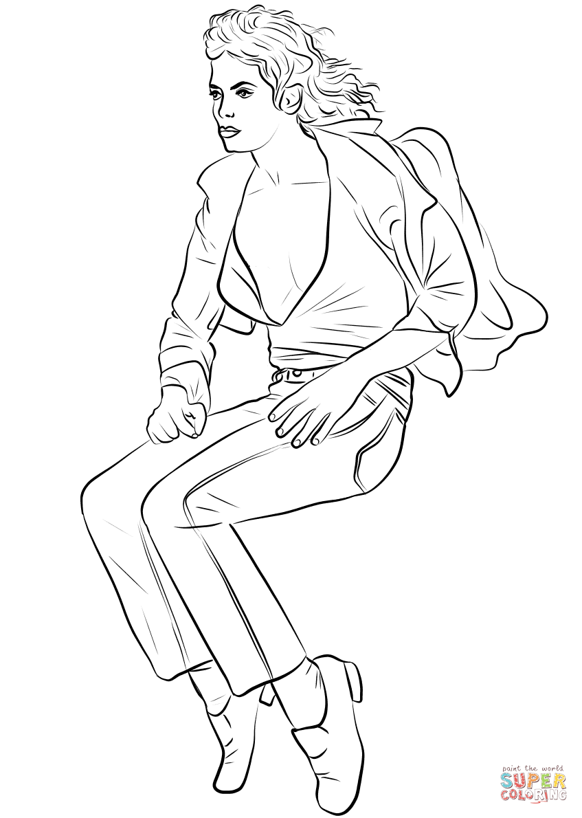 Michael Jackson Billie Jean Coloring Pages Auto Electrical Wiring Diagram