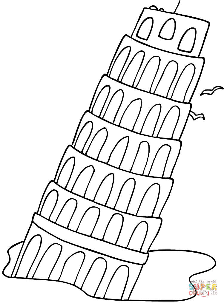 the leaning tower of pisa falling