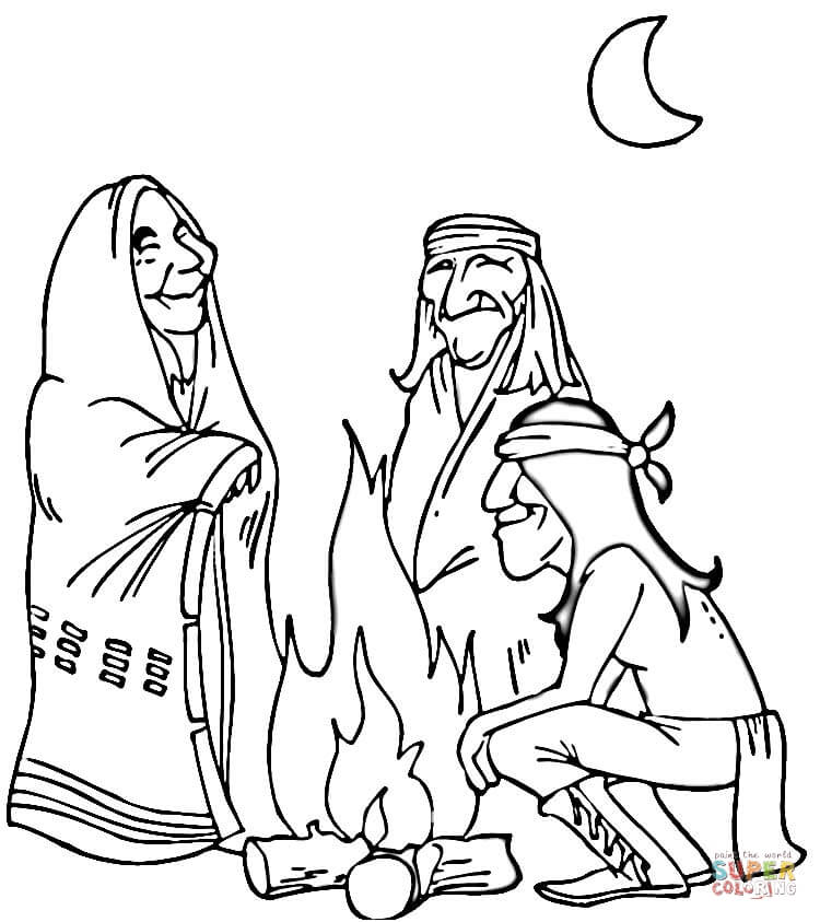 Native Americans coloring pages Free Coloring Pages - best of indian tribal coloring pages