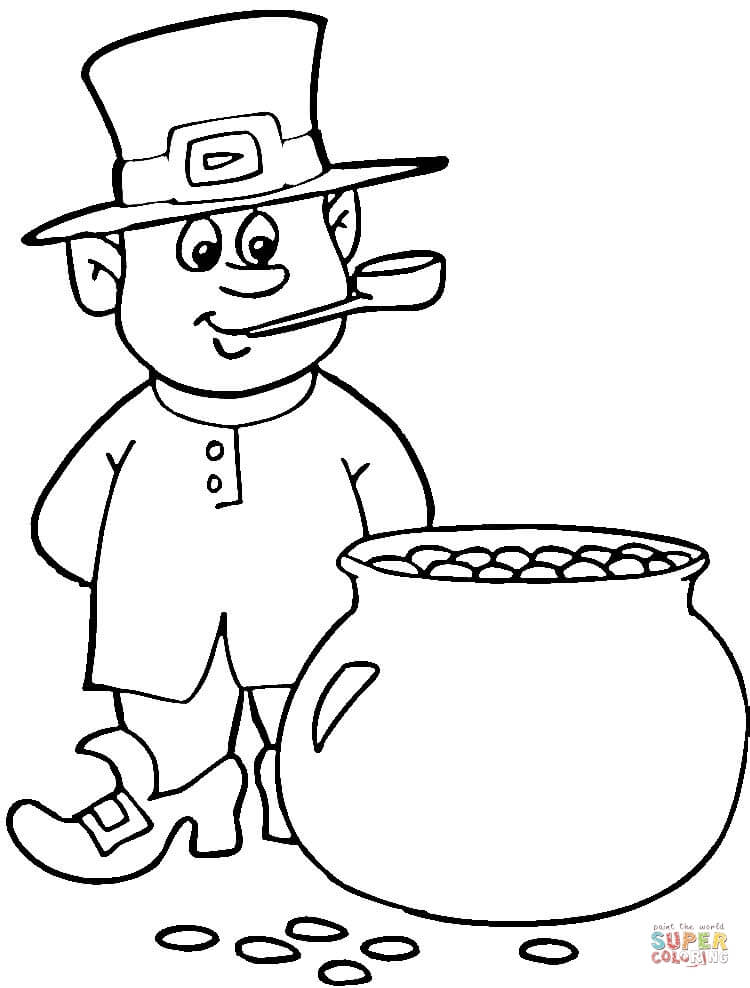 St Patrick\u0027s Day coloring pages Free Coloring Pages