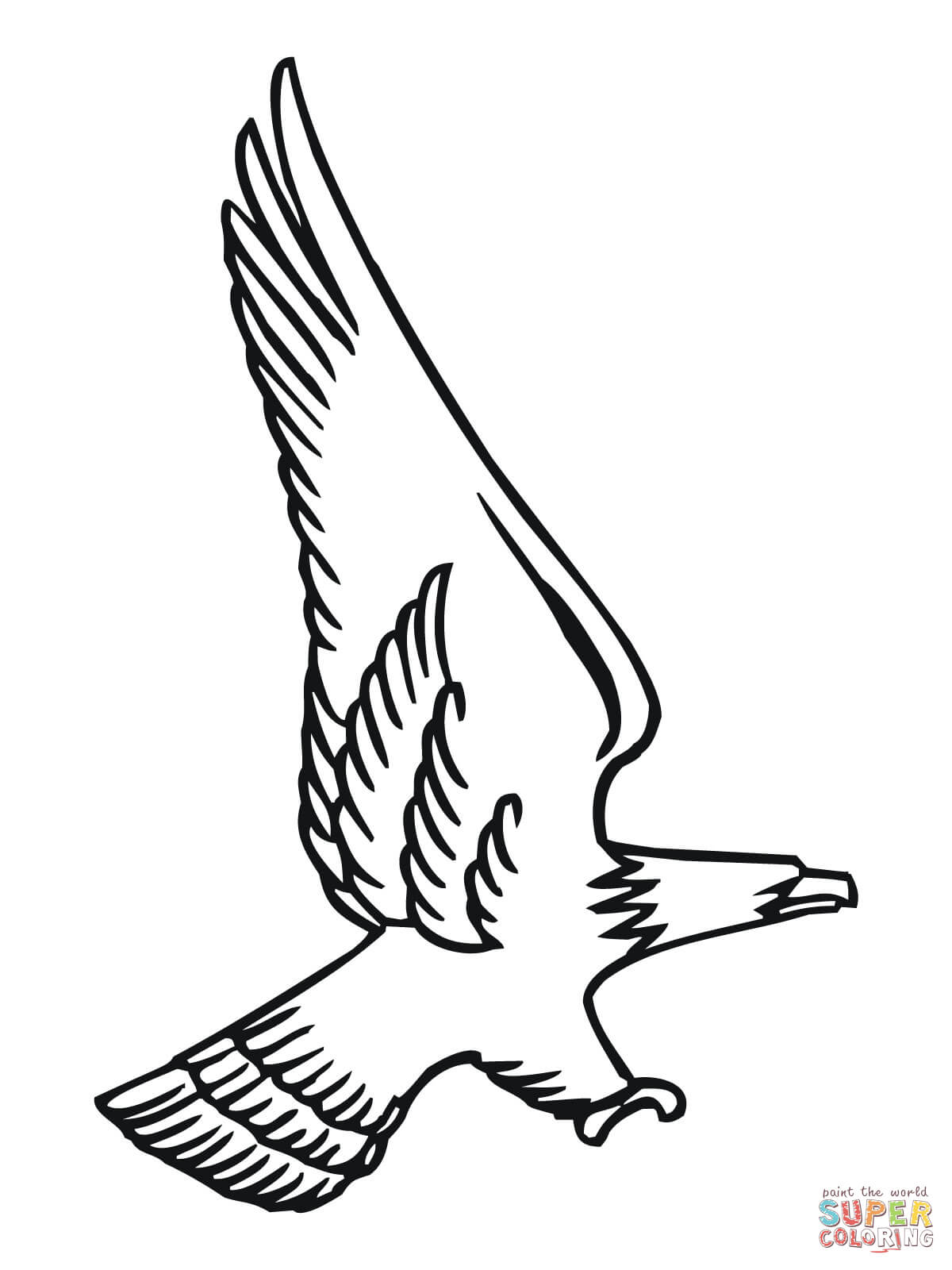 Free coloring page kite - Free Coloring Page Bald Eagle Attacking Bald Eagle Download