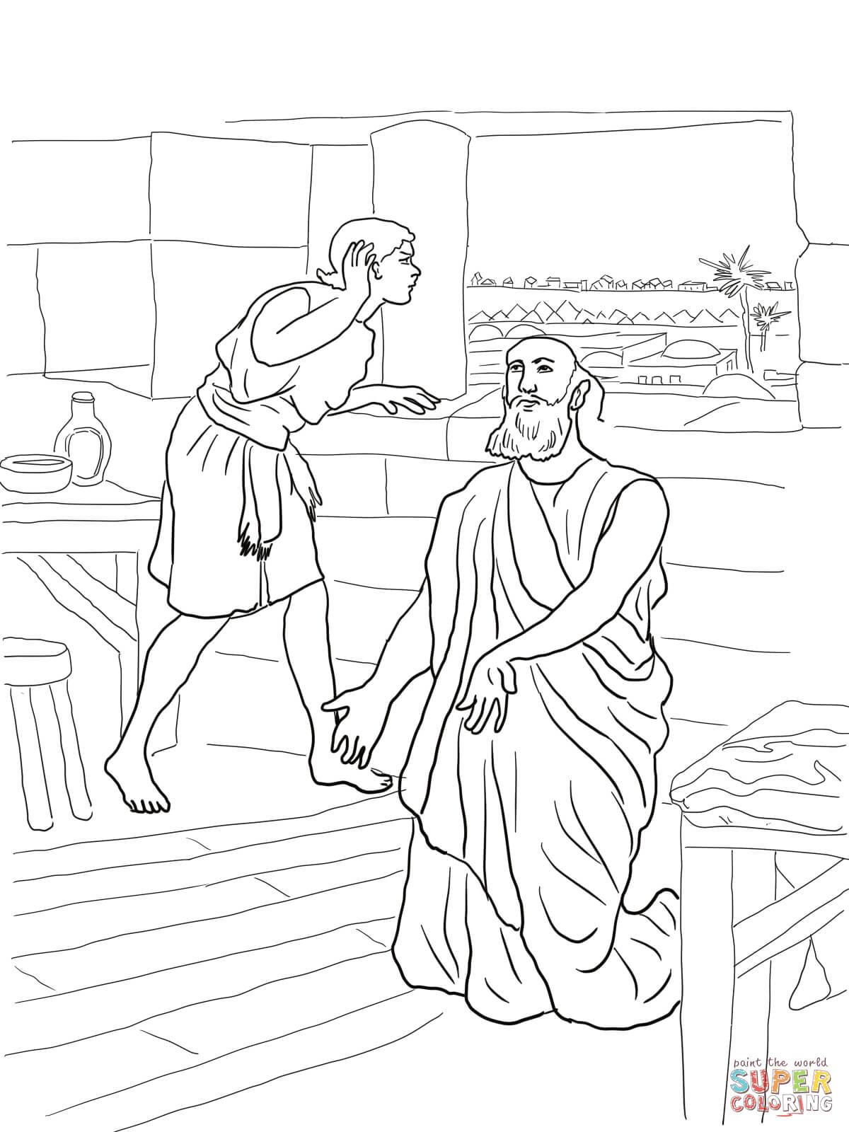 Elisha and his servant