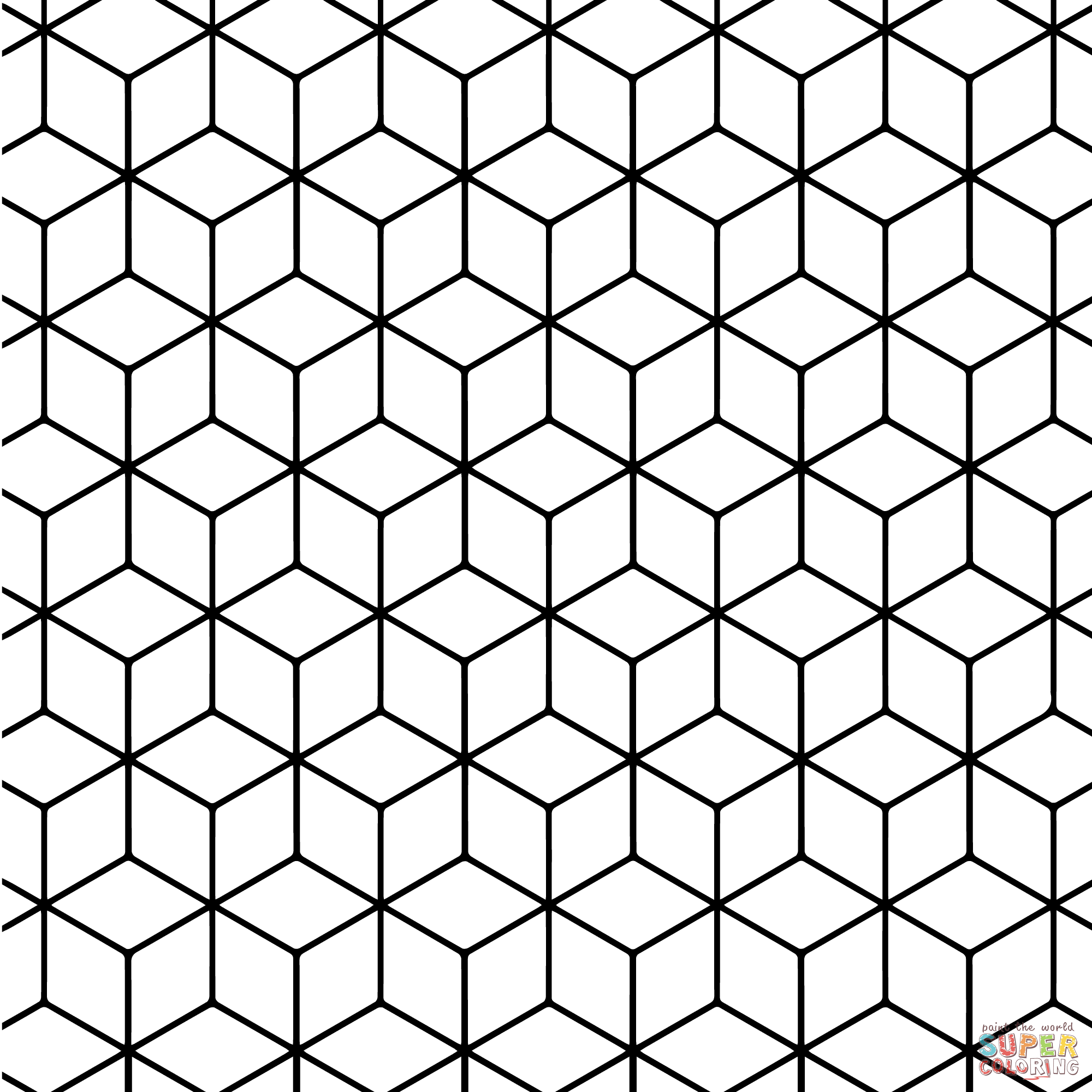 printable coloring pages patterns - Coloring Pages Patterns Geometric