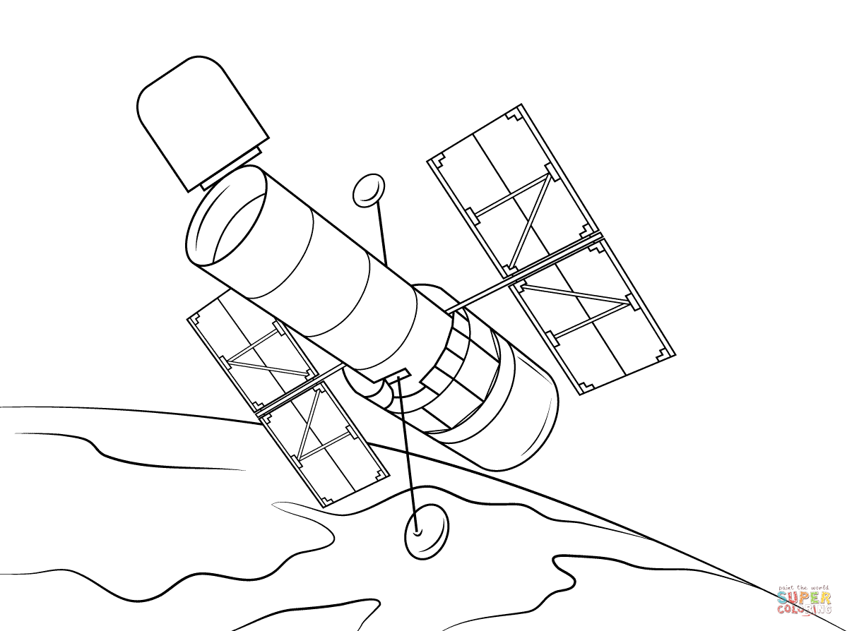 Hubble Telescope Clip Art Cliparts