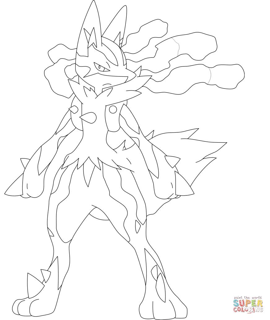 Mega Pokemon Coloring Pages Ofertasvuelo