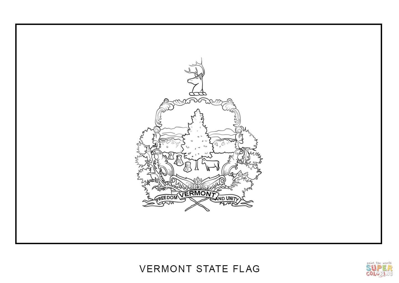 Nebraska state map outline sketch coloring page for Nebraska flag coloring page