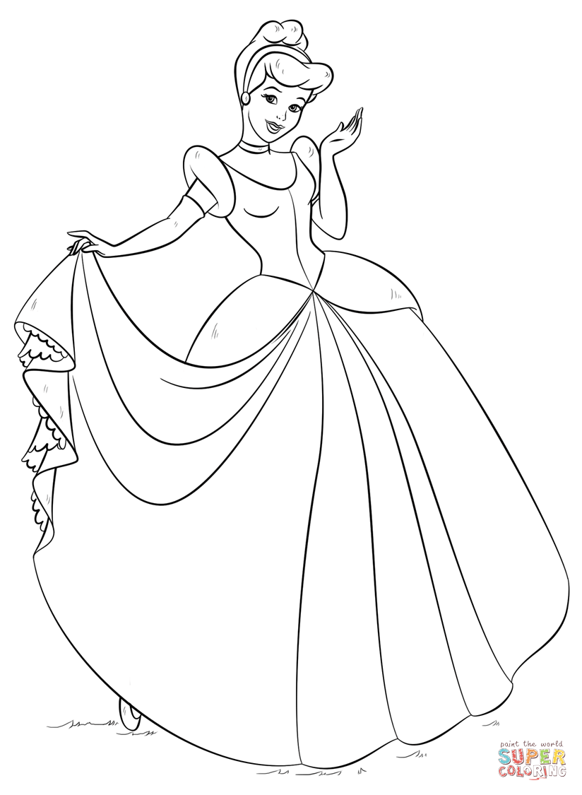 Geek Girl Template Auto Electrical Wiring Diagram Vw Beetle Engine Wire Qwickstep Cinderella Coloring Page