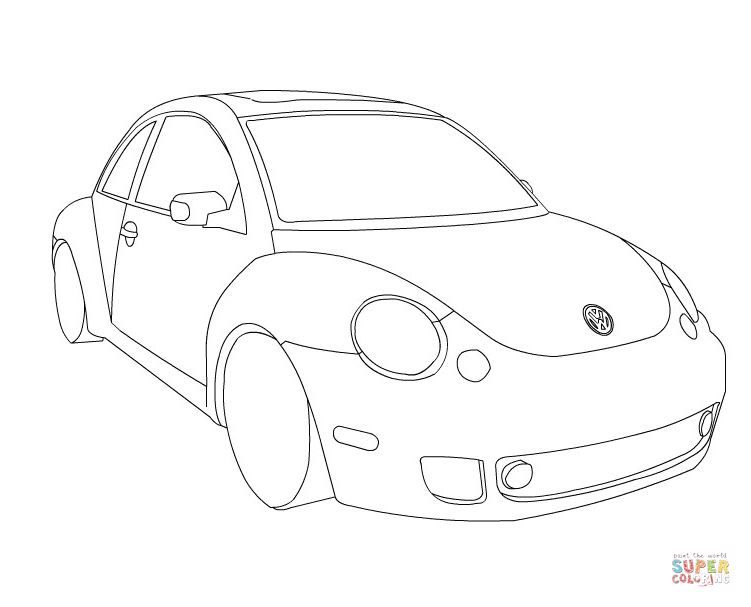 volkswagen super beetle Schaltplang