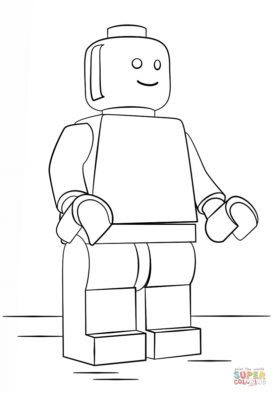 Click the lego man coloring
