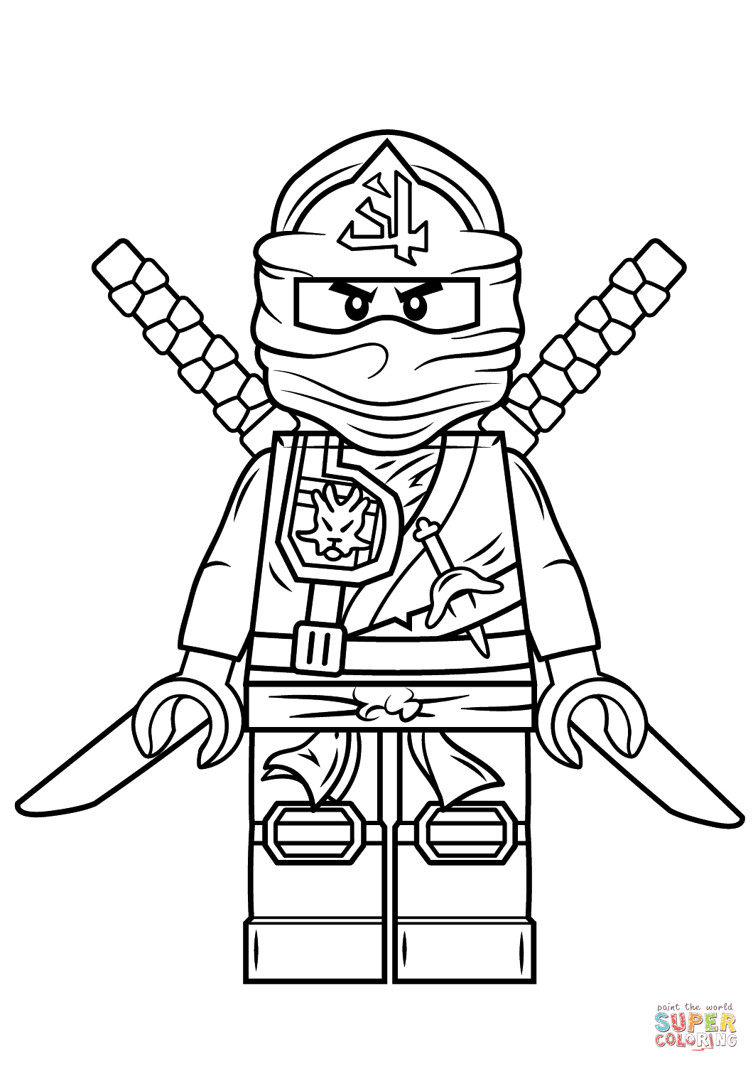 Click the lego ninjago green ninja coloring pages to view printable version or color it online compatible with ipad and android tablets