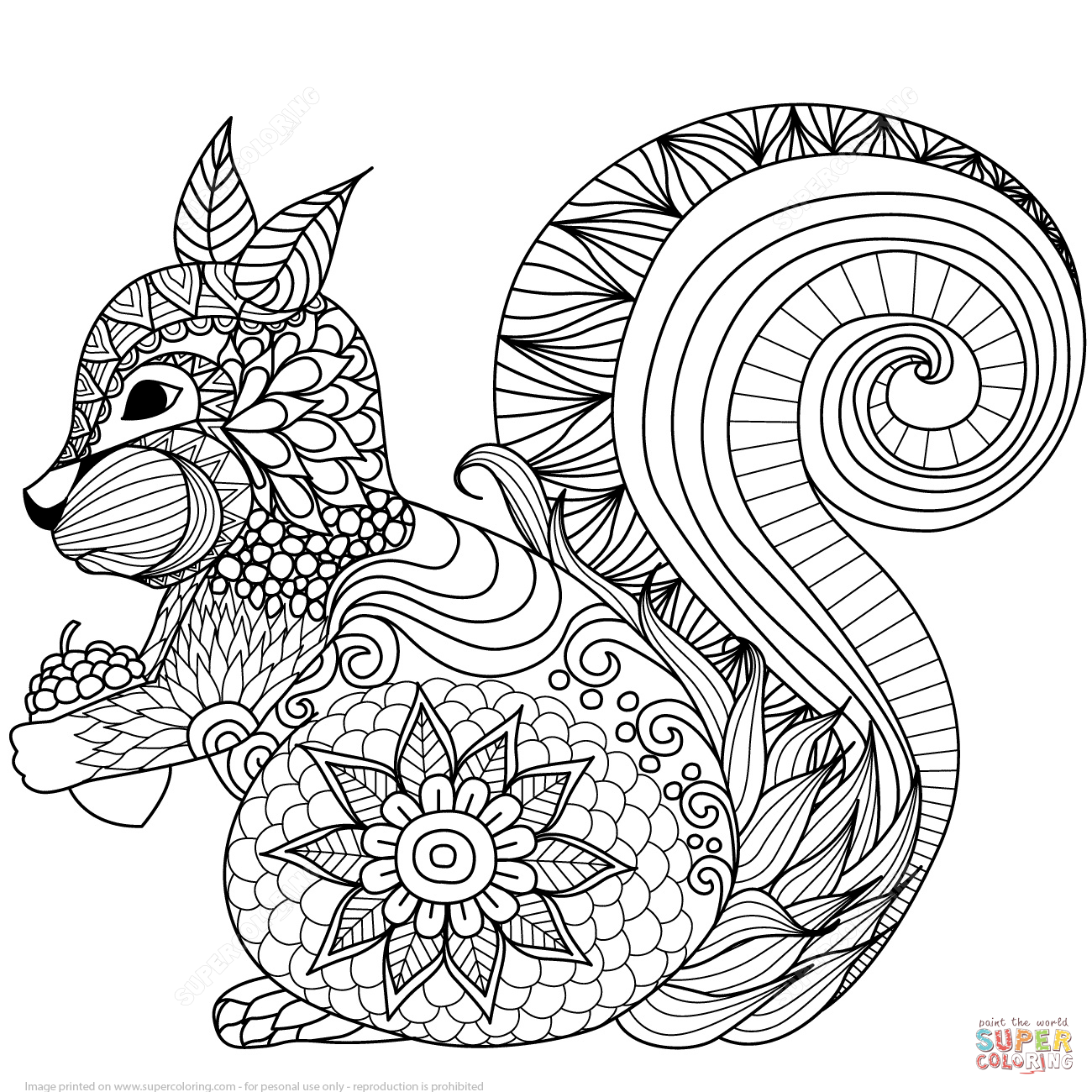 Zen coloring pages printable