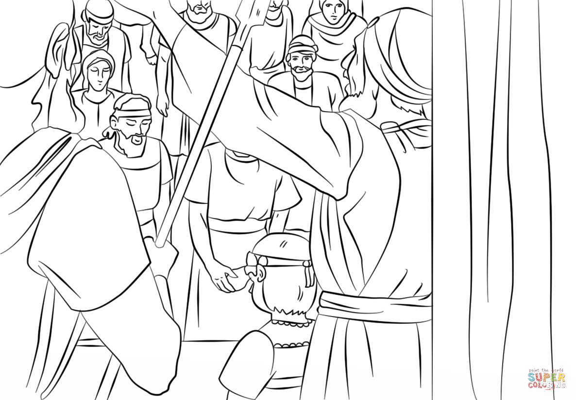 Free coloring page golden calf - Free Coloring Pages King Josiah
