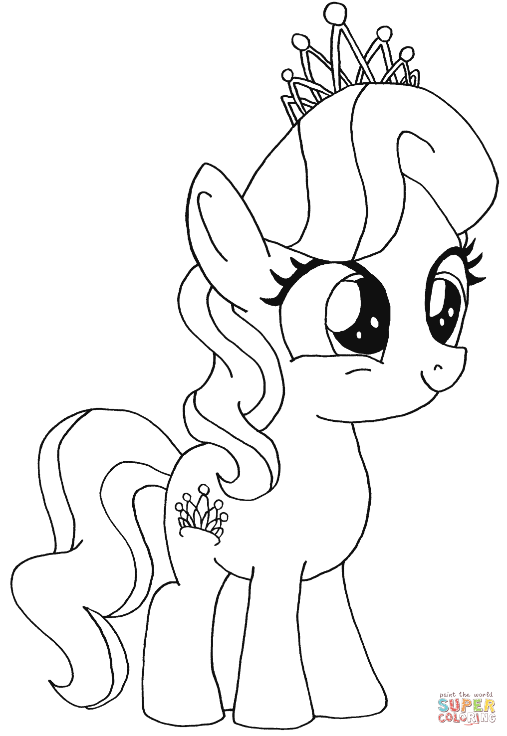 My little pony wonderbolts coloring pages - My Little Pony Wonderbolts Coloring Pages 85