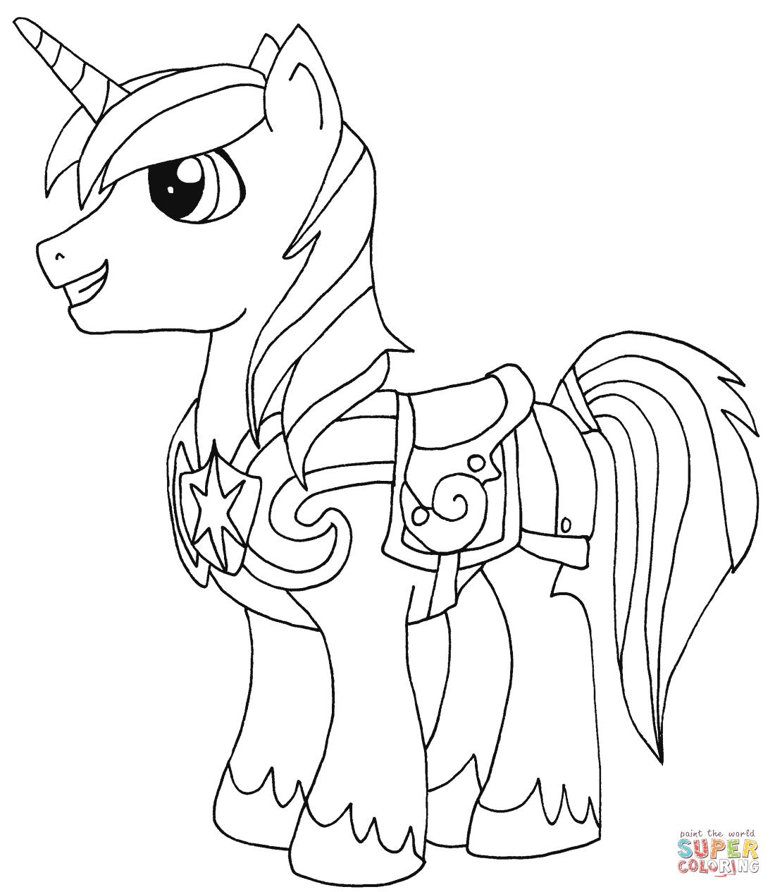 Shining armor rarity pony from my little pony
