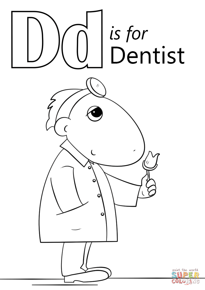 oral b coloring pages