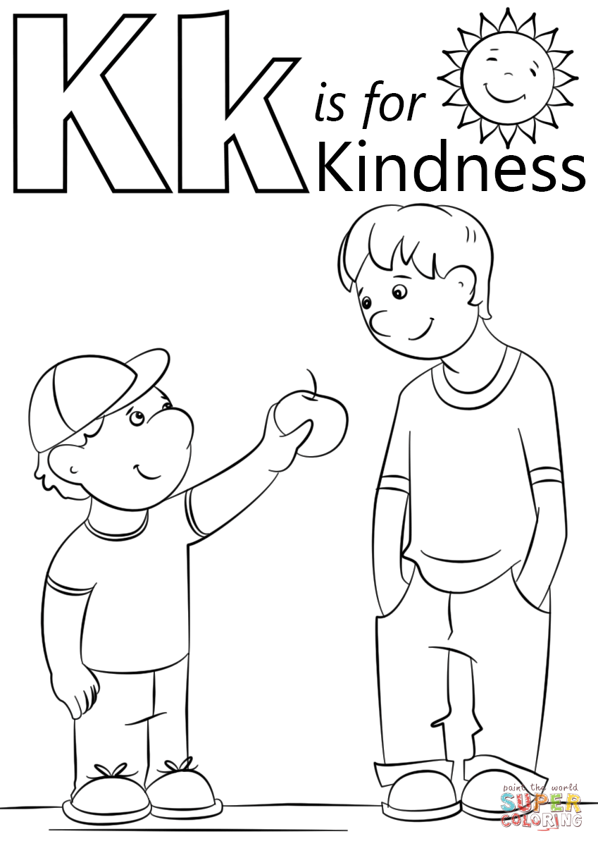 kindness coloring pages to view printable version or color it online compatible with ipad and android tablets