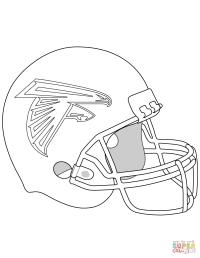 Atlanta Falcons - Free Colouring Pages