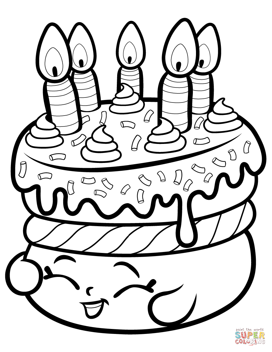 Shopkins coloring pages wishes - Download