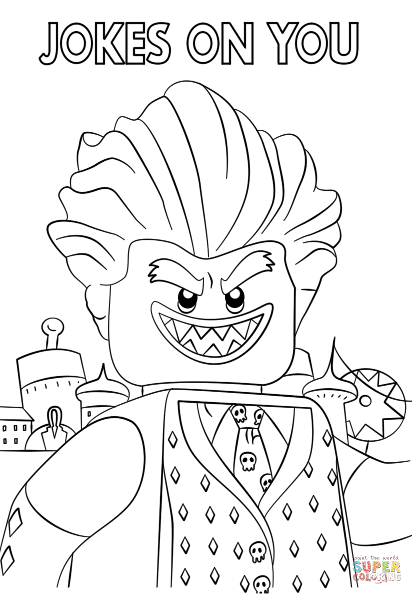 lego batman 3 drawings colouring pages page 3