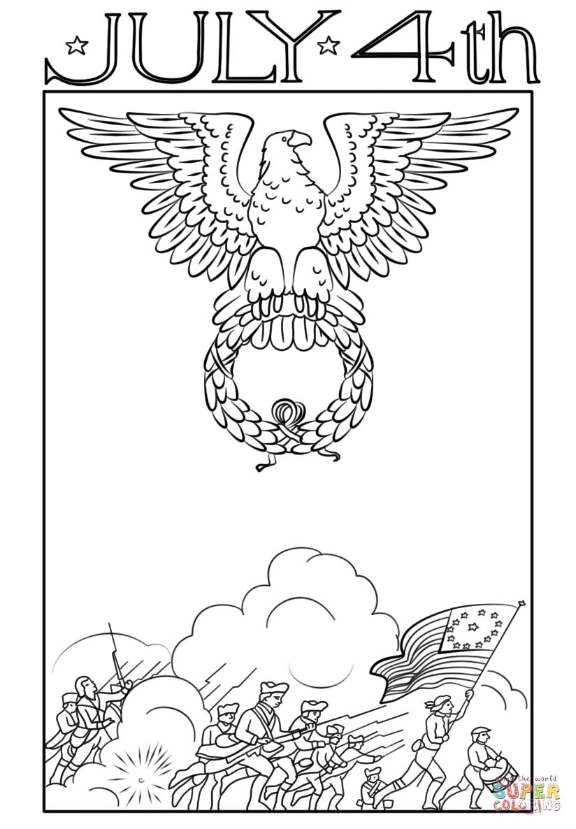 printable coloring pages july 4th