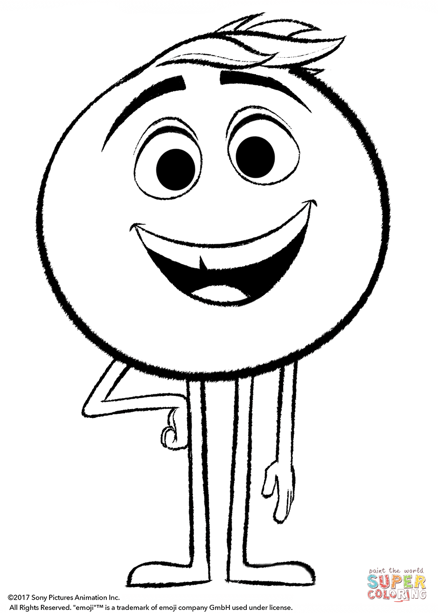 All Emojis Coloring Pages Coloring