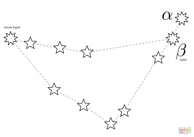 Constellation Coloring Pages - Eskayalitim