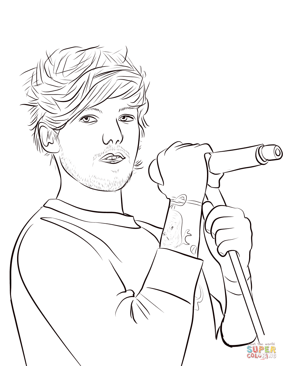 Poets Of The Fall Wallpaper Louis Tomlinson Coloring Page Free Printable Coloring Pages