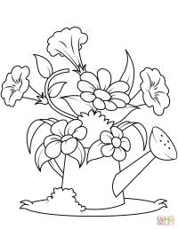 Flores Infantiles Para Colorear E Imprimir Dibujos De Flores