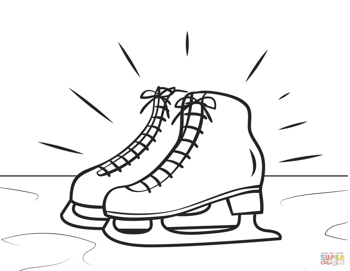 Coloring Pages Figure Skating Coach | www.topsimages.com