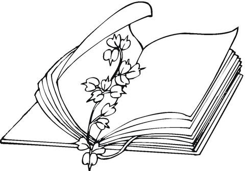 Flower Bookmark coloring page Free Printable Coloring Pages - bookmark coloring pages
