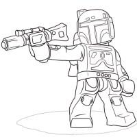 Disegni Da Colorare Lego Star Wars Marvel Super Heroes Per