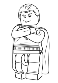 Lego Draco Malfoy coloring page | Free Printable Coloring ...