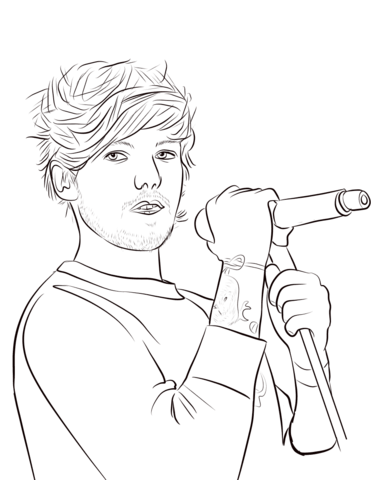Fall Out Boy Wallpaper Ipad Louis Tomlinson Coloring Page Free Printable Coloring Pages