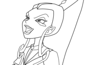 Winx Club Trix coloring pages | Free Coloring Pages