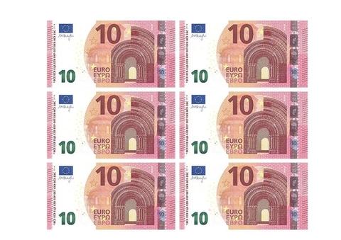 10 Euro Banknote Printable Template Free Printable Papercraft