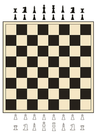 Chess Printable Board Game Free Printable Papercraft Templates